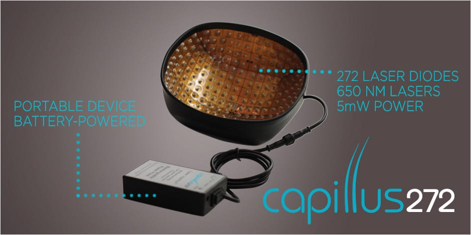 Capillus272 low level laser cap for Hair Loss